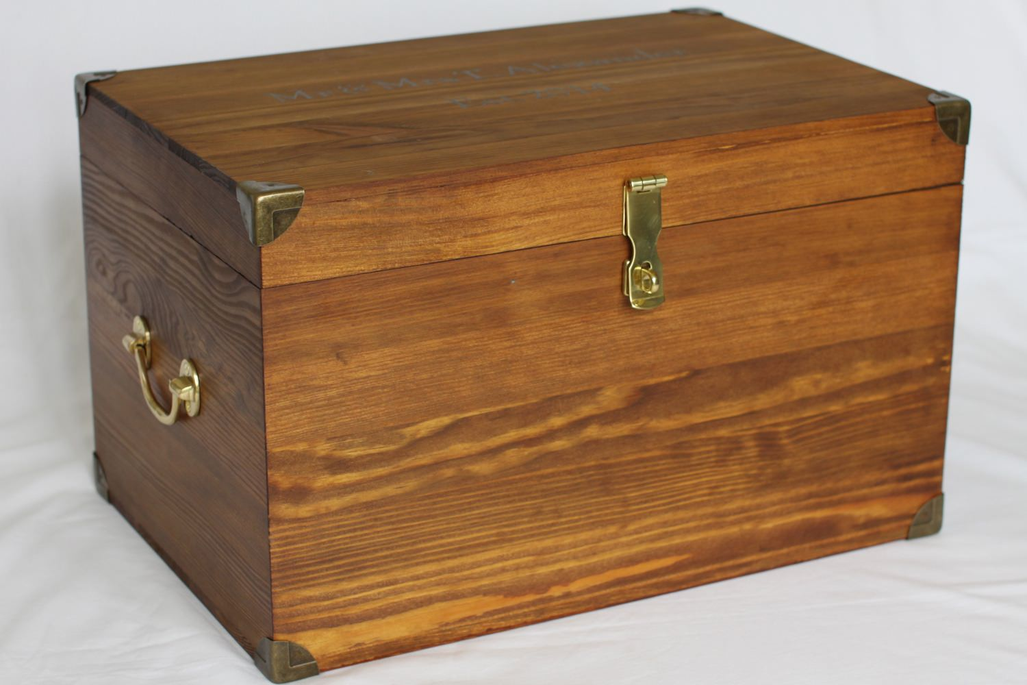 Hasp And Staple >> Custom Made Wooden Tuck Boxes for Boarding School – Shop here